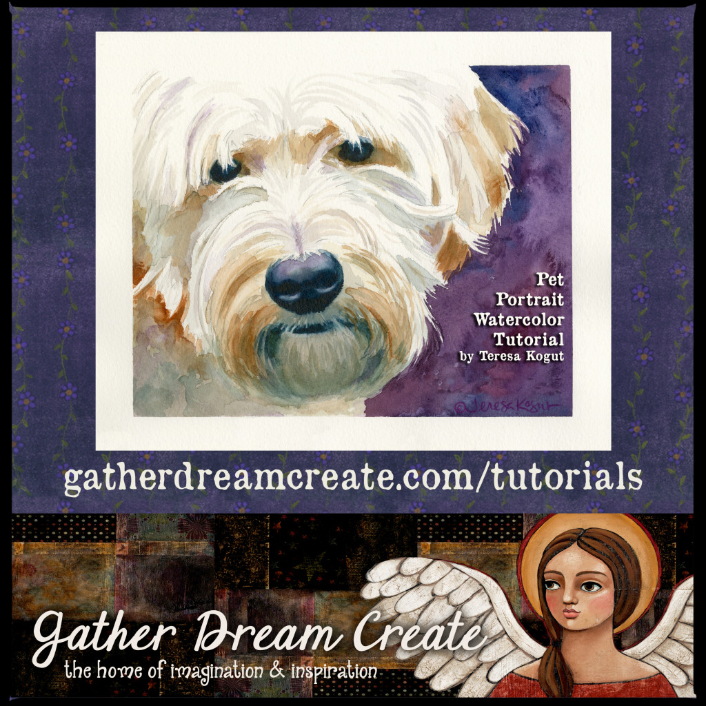 Pet Portrait tutorial banner
